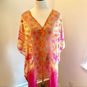 NWT Cruise Club Beach Coverup One Size Fits Most